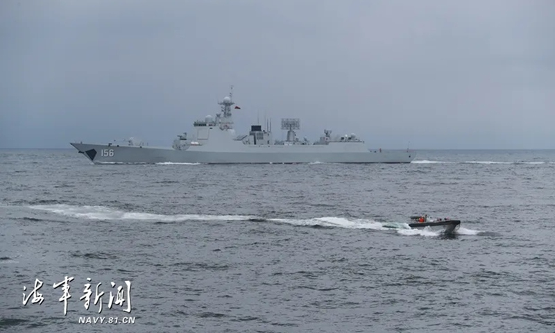 Chinese PLAN New Upgraded Type 052D Destroyer Sails Amid Tensions in Taiwan Straits
