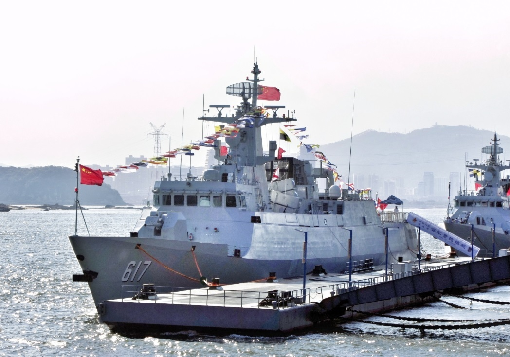 People's Liberation Army Navy Type 056 (Jiangdao) Class Corvete