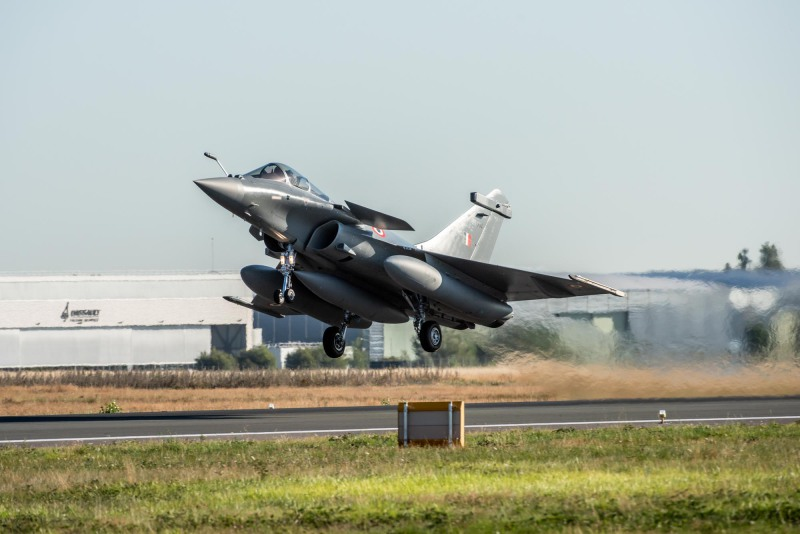 Indian Air Force Dassault Rafale Multirole Fighter Aircraft