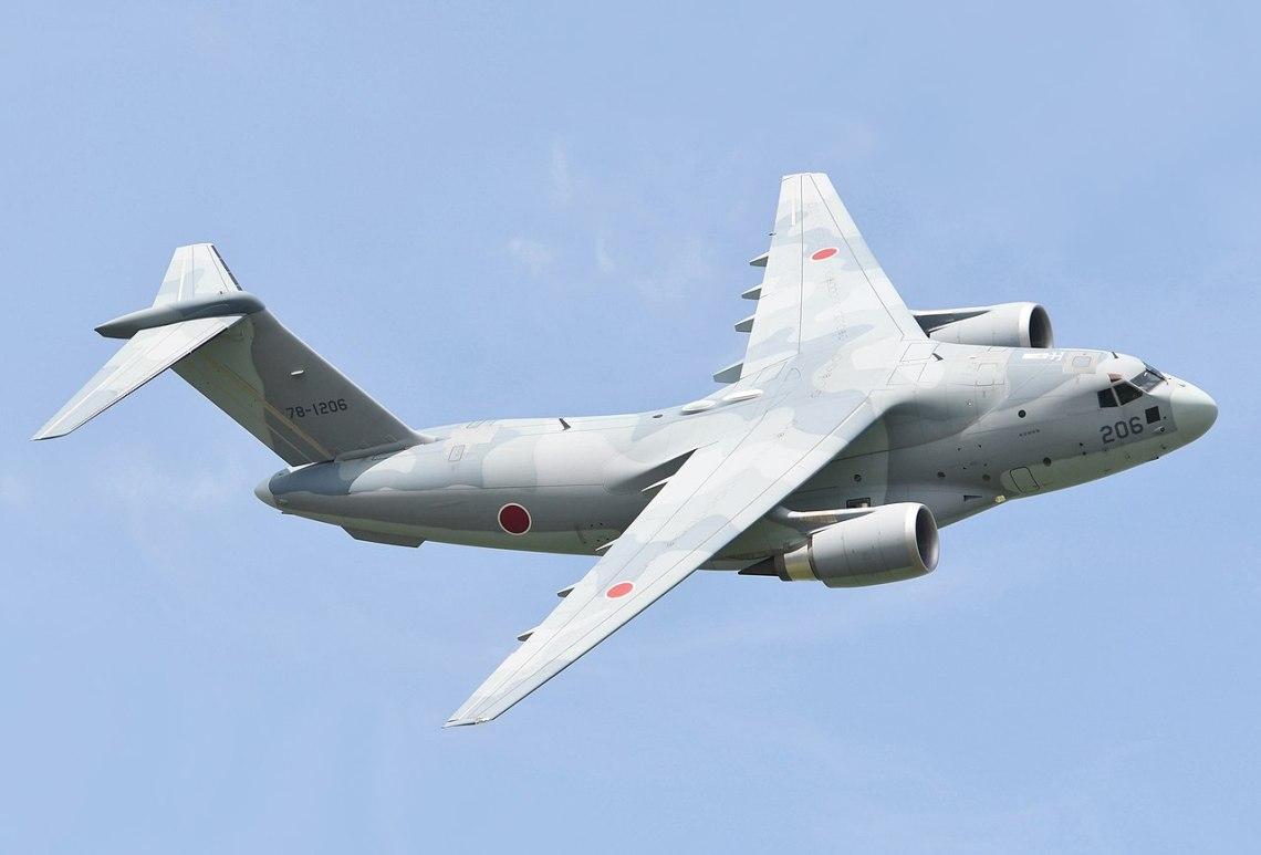 Japan Air Self-Defense Force (JASDF) C-2 Transport Aircraft
