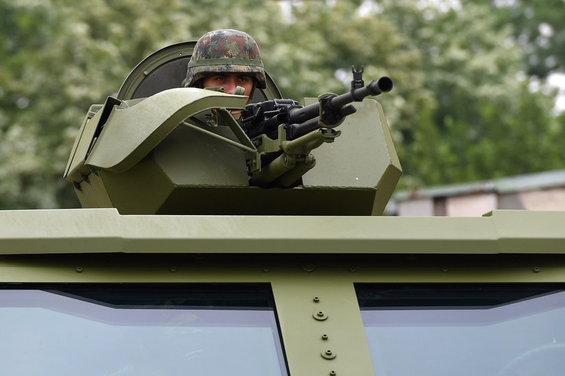 Serbian Armed Forces Unveils New M-20 6×6 Mine-Resistant Ambush Protected (MRAP)