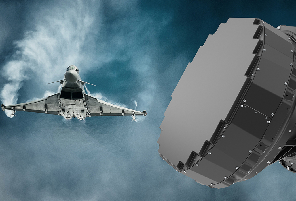 Hensoldt Wins €1.5 Billion Order for Eurofighter AESA Radar