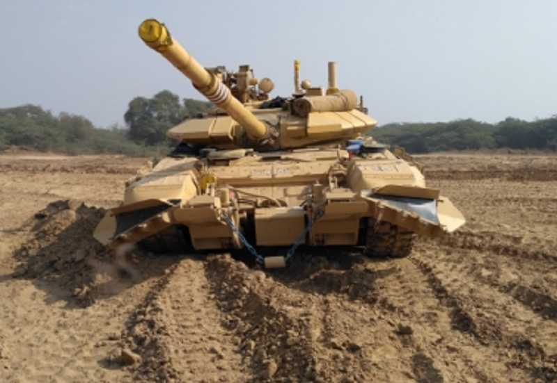 Bharat Earth Movers Limited Wins Indian Army Order for T-90 Mine Ploughs