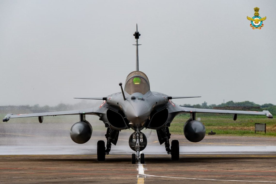 Indian Air Force (IAF) Dassault Rafale Fighters