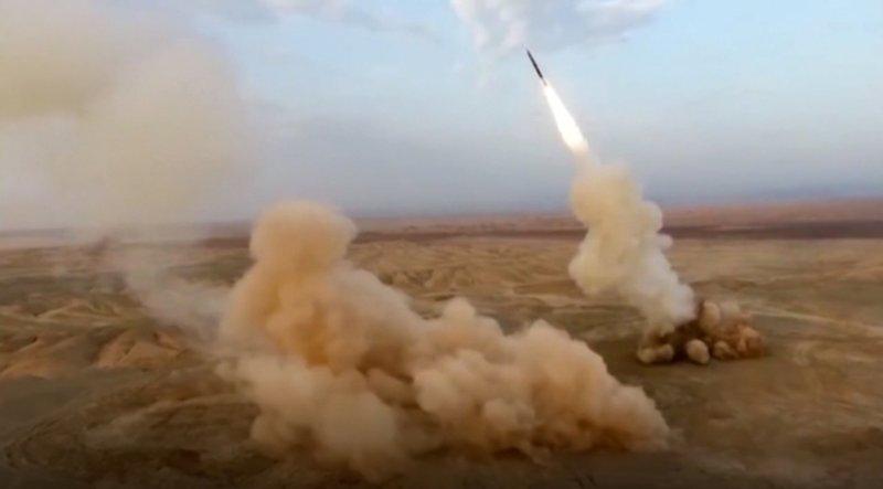 Iran Launches Underground Ballistic Missiles During Exercise