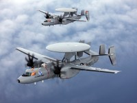 Northrop Grumman E-2D Advanced Hawkeye Airborne Early Warning (AEW) Aircraft