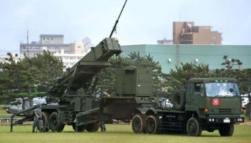 Taiwan's Patriot PAC-3 missiles.