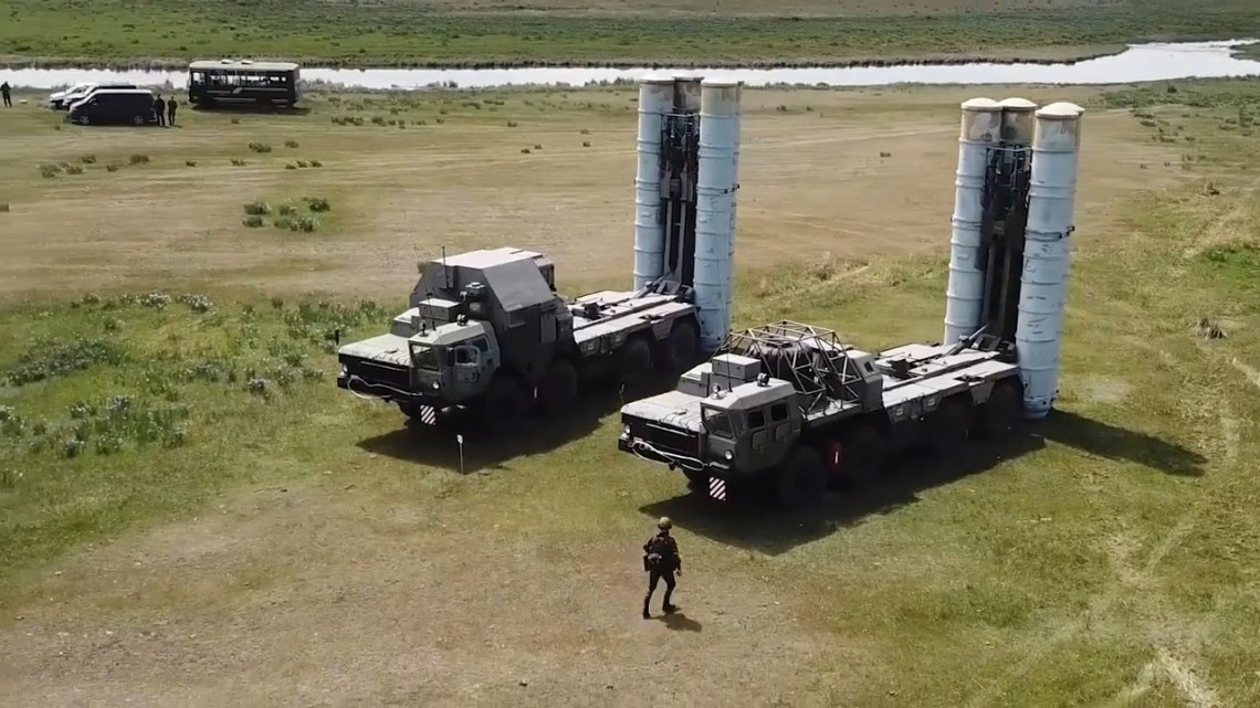 Russia's Central Military District Drills S-300 Air Defense Systems
