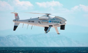 Schiebel Camcopter S-100 to Perform Maritime Surveillance for European Maritime Safety Agency (EMSA)