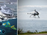 Skeldar V-200 Drone Selected for Belgian-Dutch Minehunter Program
