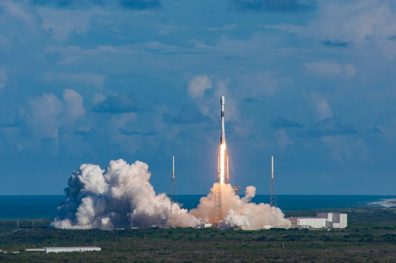SpaceX Falcon 9 Launches ANASIS-II Military Communications Satellite for South Korea