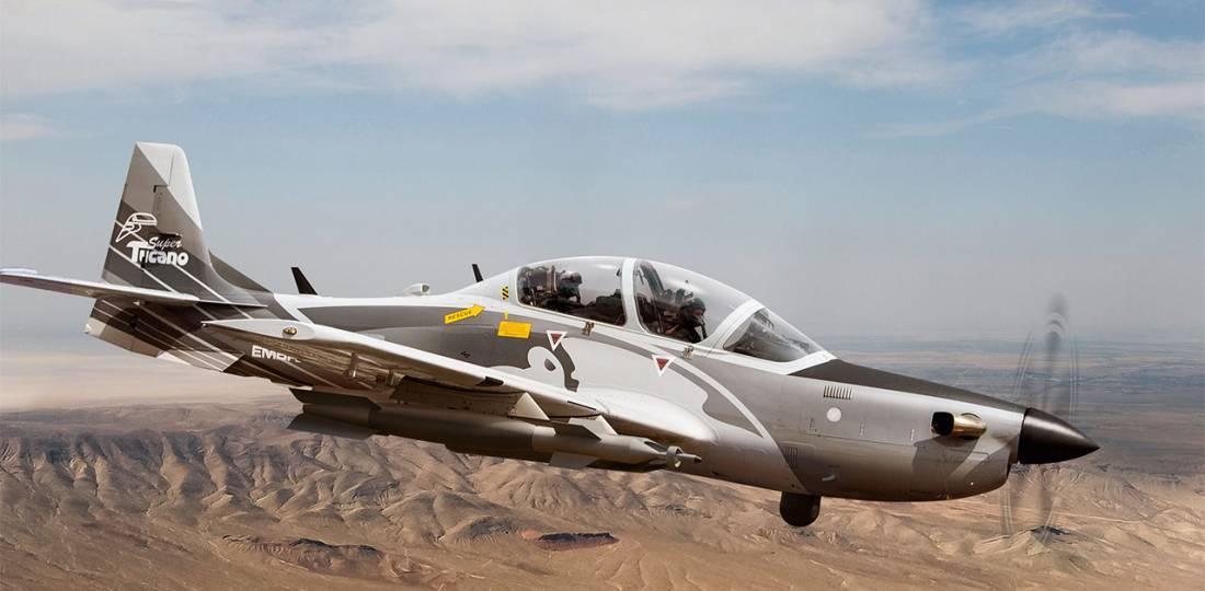 Embraer EMB 314 Super Tucano Turboprop Close-air Support Aircraft