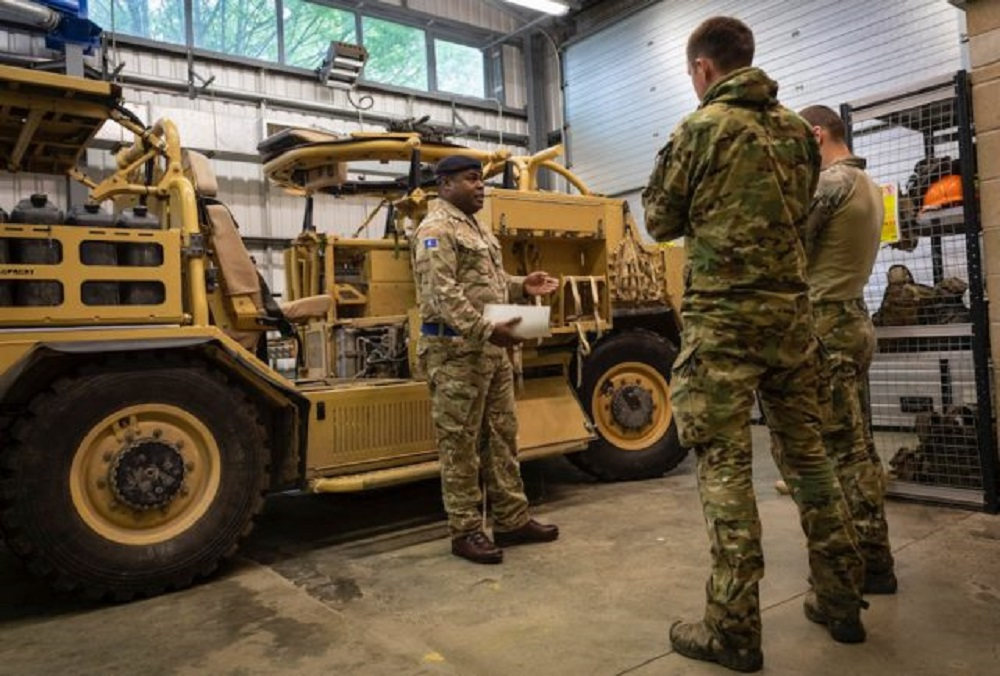 UK Loans Estonian Special Forces Four Jackal Vehicles to Support Counter-Terror Mission in Mali