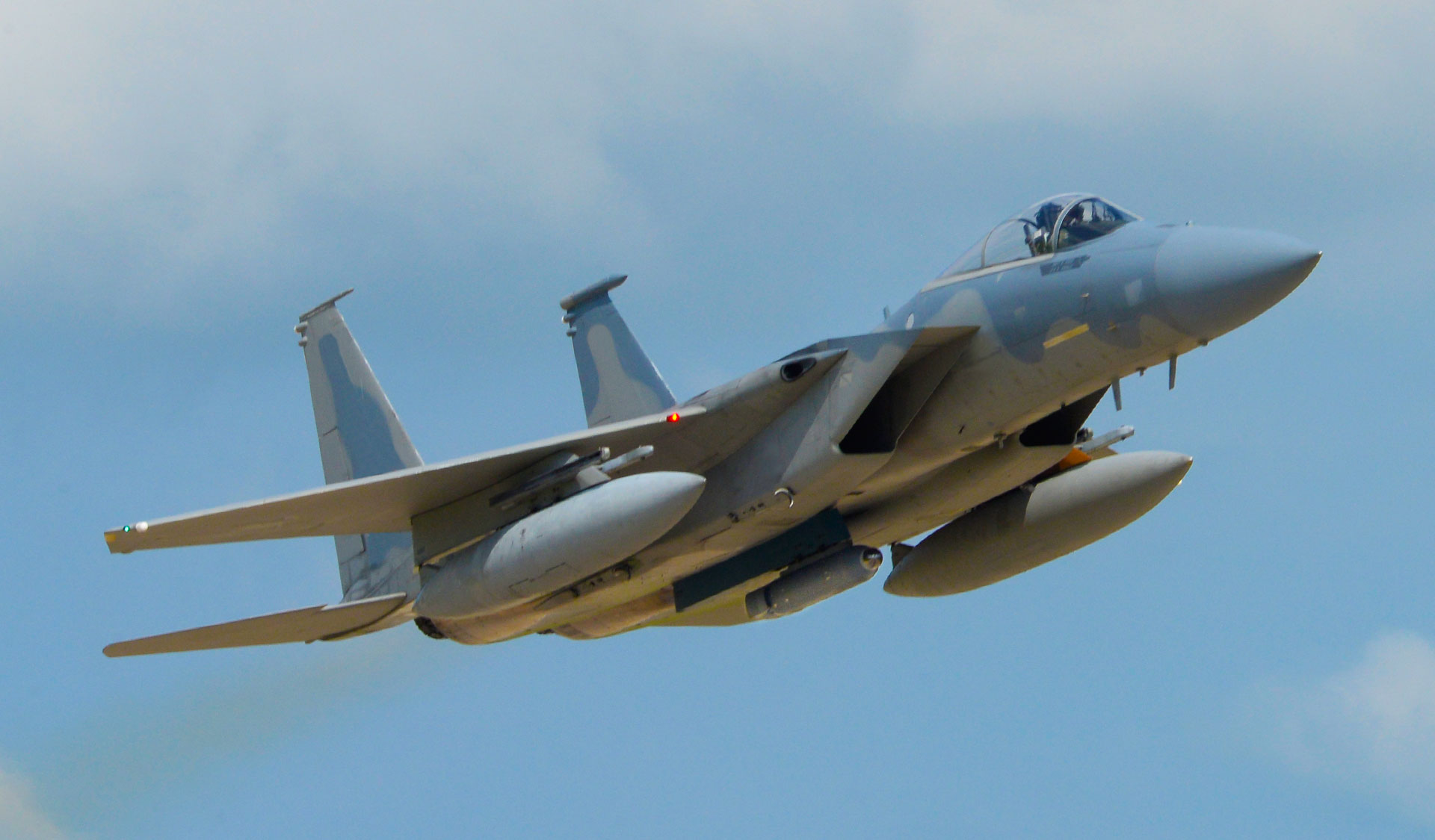 US Air Force Tests IRST Pod for F-15 and F-16 Aircraft