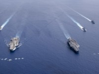 US Navy Sends Two-Carrier Strike Group to South China Sea