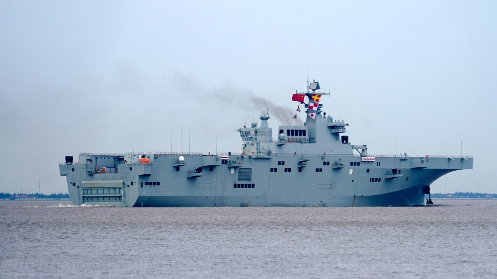 China's First Amphibious Assault Ship Completes 18-Day Sea Trial