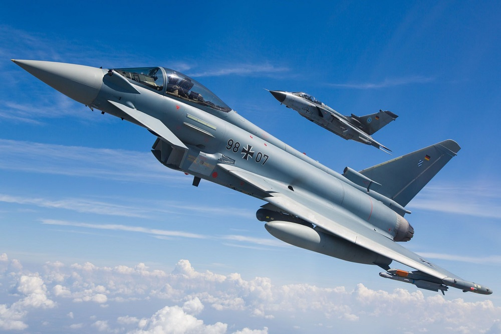 German Air Force Eurofighter and Tornado