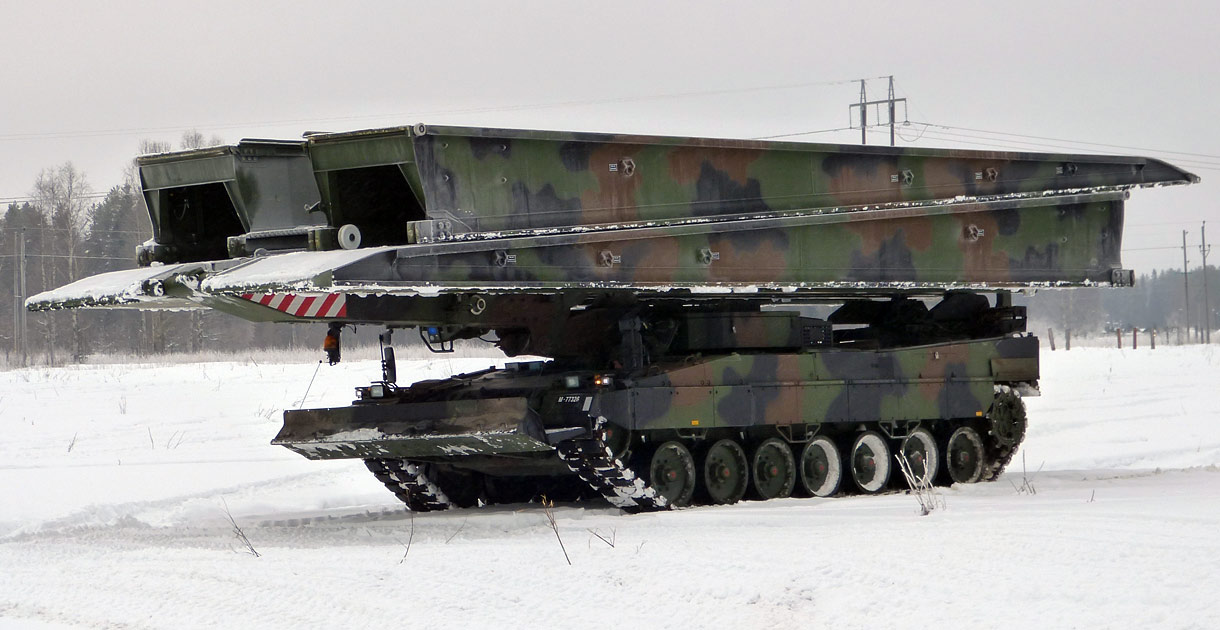 Leguan Leopard 2 Bridge Layer
