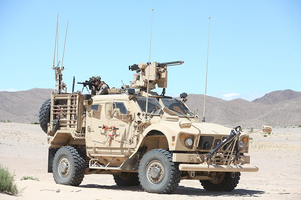 Oshkosh M-ATV Mine Resistant Ambush Protected (MRAP)