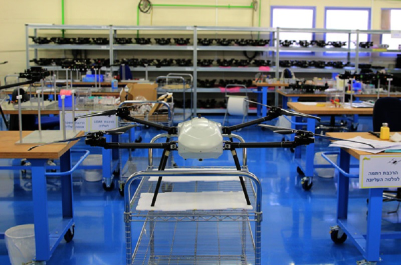 Elbit Systems THOR  Vertical Take-off and Landing (VTOL) assembly line