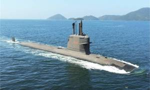 First Brazilian-Built Submarine Riachuelo (S 40) Begins Sea Trials