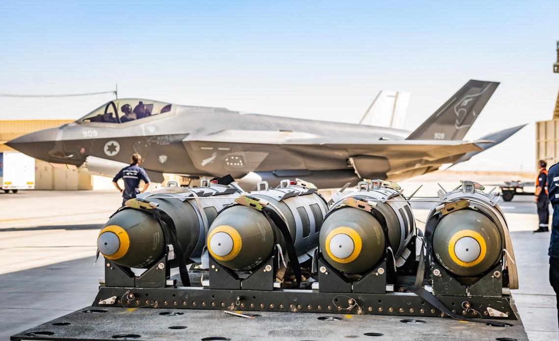 Israel Air Force 116th Squadron Lockheed Martin F-35I Adir Stealth Multirole Fighter