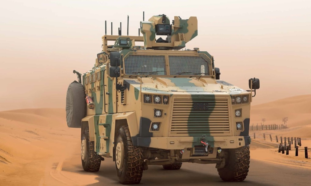 BMC Delivers Vuran Mine-Resistant Ambush Protected (MRAP) for Turkish Armed Forces