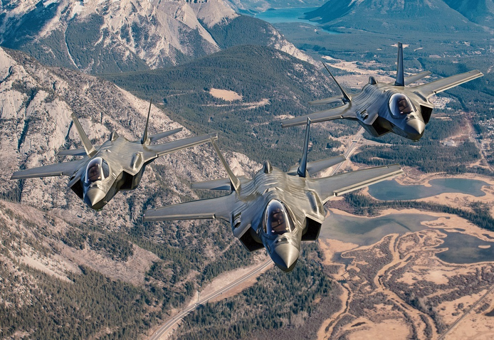 Lockheed Martin F-35 Proposal To Royal Canadian Air Force Future Fighter Capability Project Submitted
