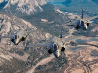 Lockheed Martin F-35 Lightning II stealth multirole fighters
