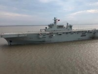 Maiden Voyage for China's PLA Navy Type 075 Amphibious Assault Ship