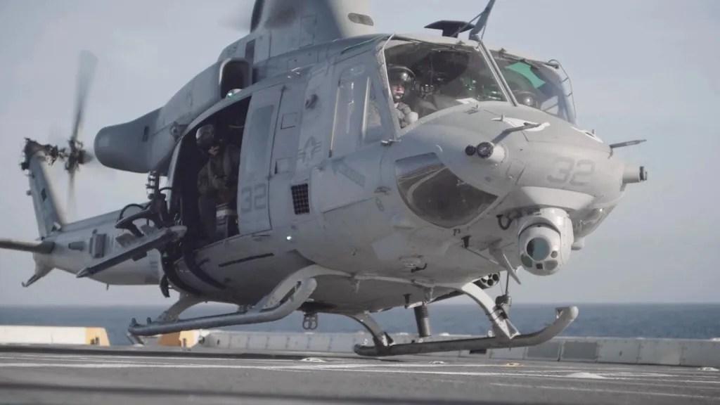 Marine Medium Tiltrotor Squadron 163 Bell UH-1Y Venom  medium-sized utility helicopte