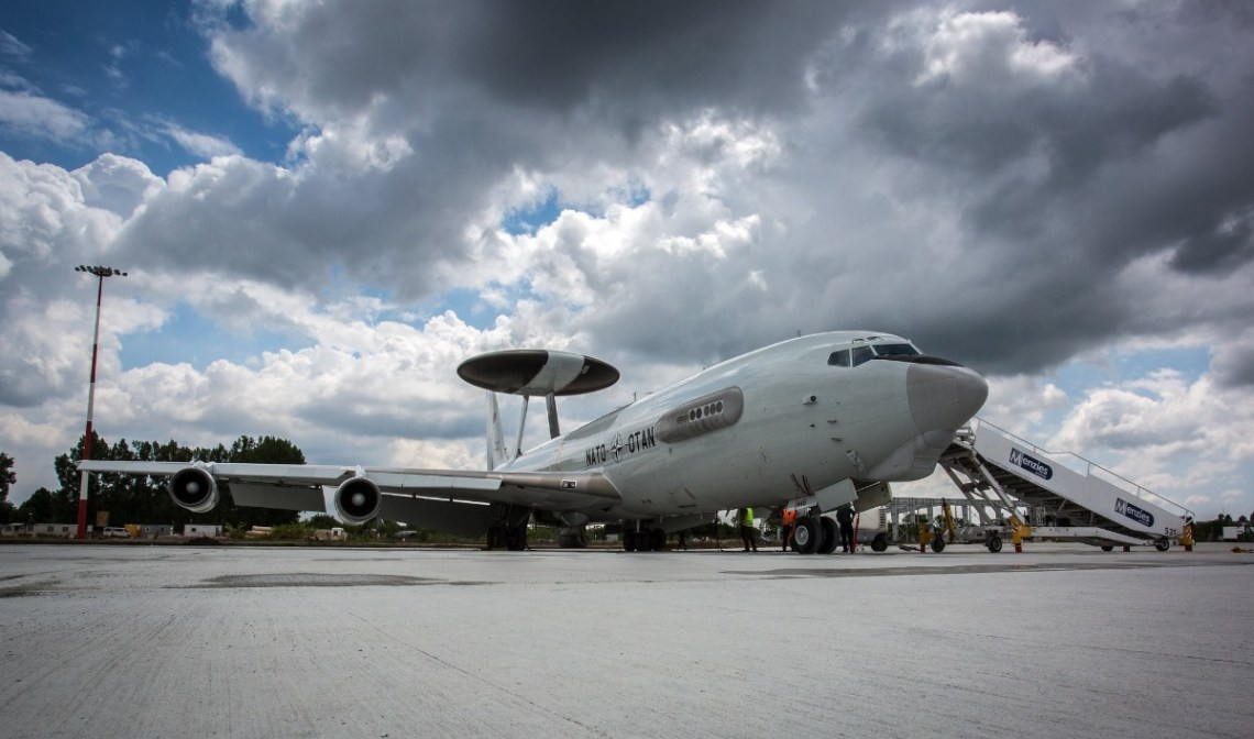 NATO AWACS aircraft joins binational training event in Poland
