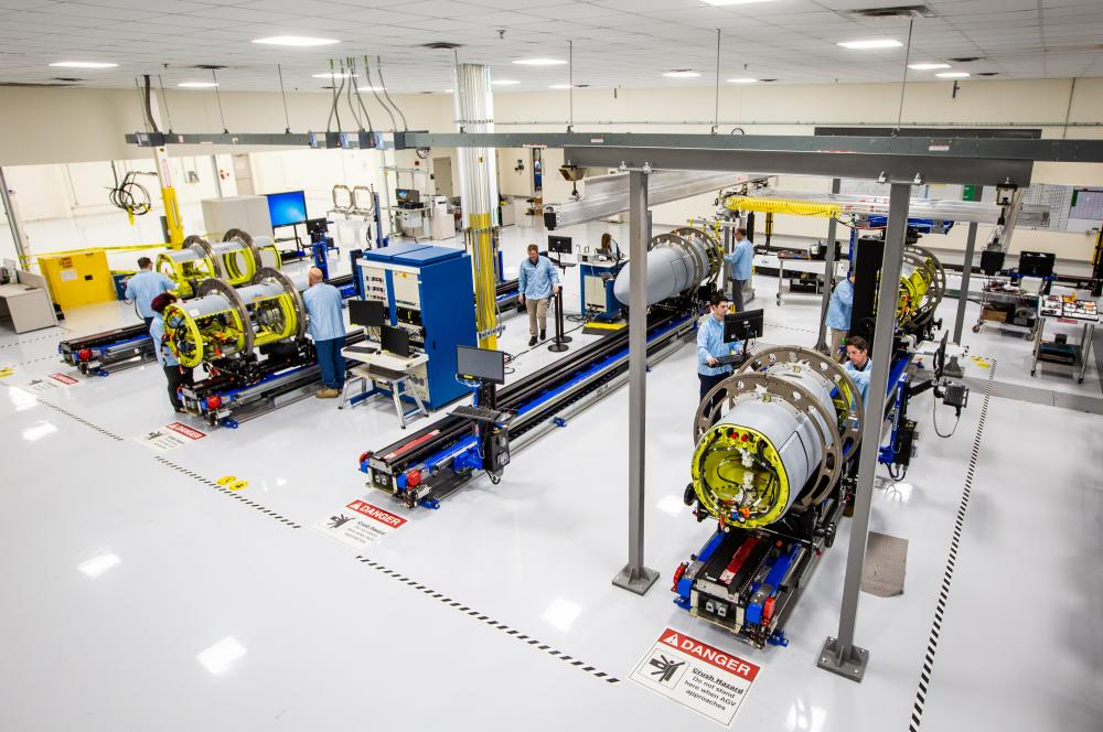 NGJ-MB in production at Raytheon Technologies facilities in Forest, MS.