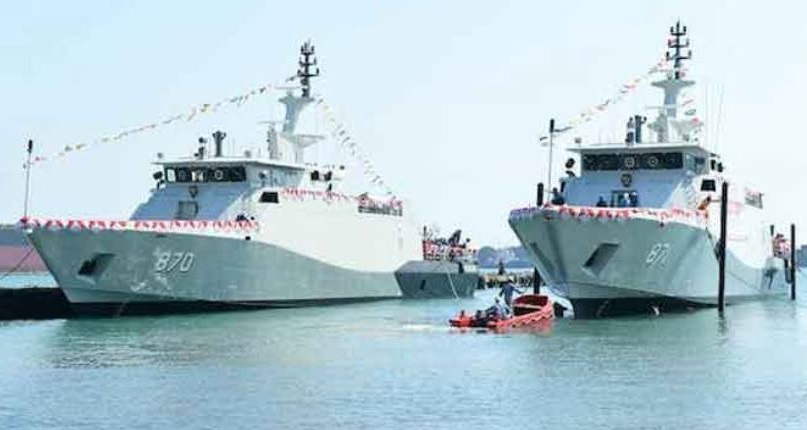 PT CMS Launches Two PC-40 Patrol Boats for Indonesian Navy