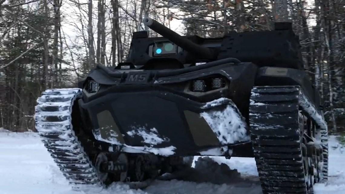 Ripsaw M5 Robotic Combat Vehicle (RCV)