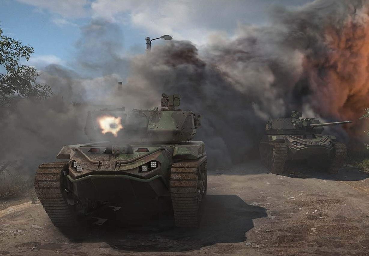 %name El Ejército de EE. UU. Se prepara para adoptar tanques robóticos RCV