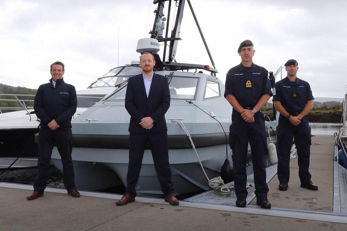 Royal Navy Receives Second Autonomous Mine Hunter