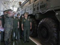 Russian Defence Minister Inspects Teikovo Strategic Missile Forces Formation