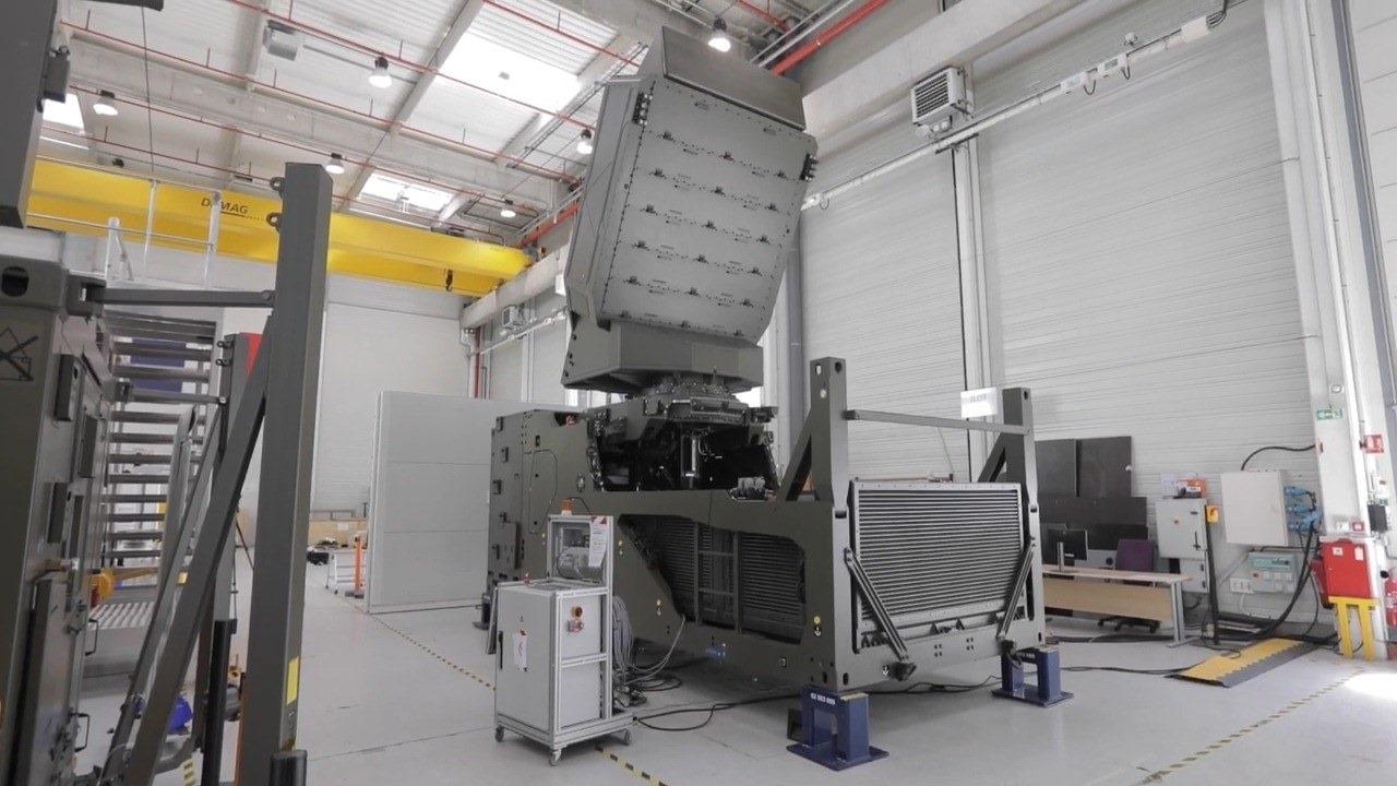 Thales Ground Fire Digital Multi-function Radar