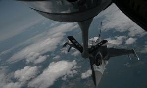100 ARW Refuels US and Polish F-16s for Astral Knight 20 Stringer