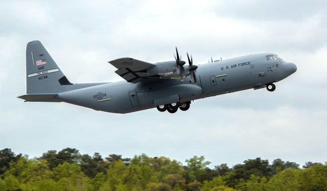 Lockheed Martin C-130J-30 Super Hercules