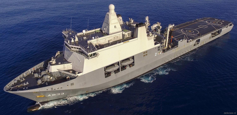 Royal Netherlands Navy HNLMS Karel Doorman