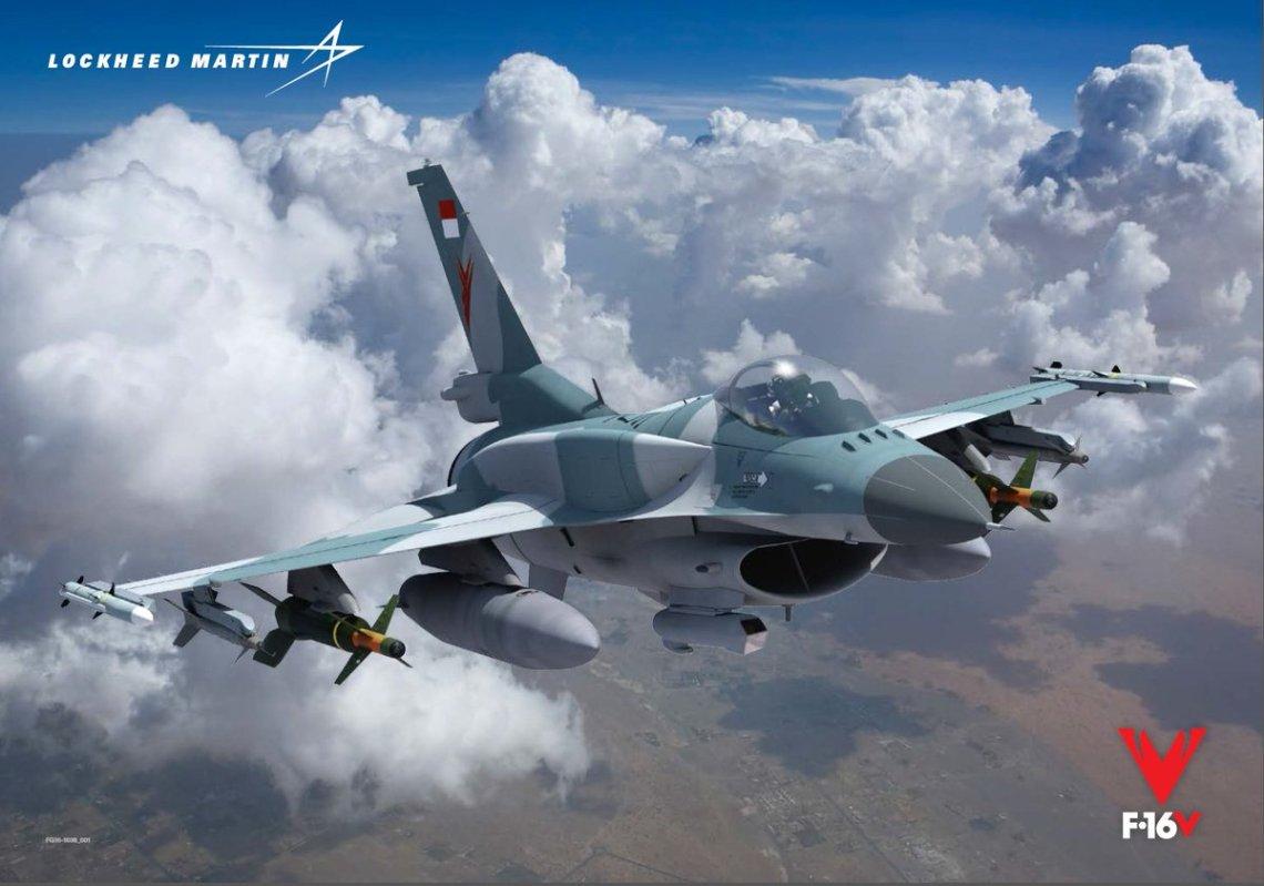 Lockheed Martin F-16V Viper fighter aircraft
