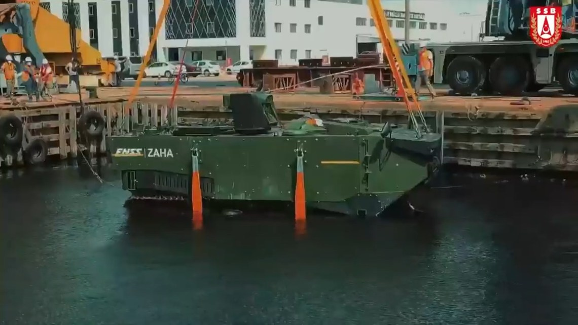 FNSS ZAHA Anti-Capsizing Test