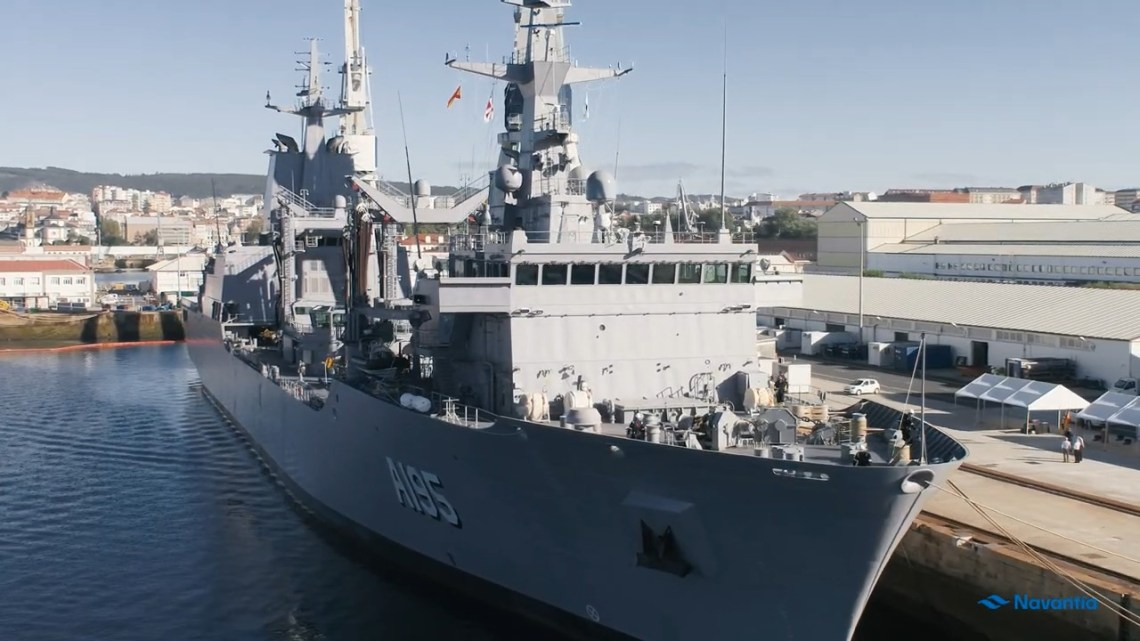 Future HMAS Supply Auxiliary Oiler Replenisher (AOR) Sets Sail for Australia