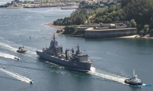 Future HMAS Supply Auxiliary Oiler Replenisher (AOR) Sets Sail for Australia