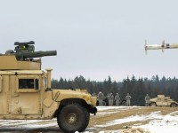 Humvee M1167 TOW Missile Launcher