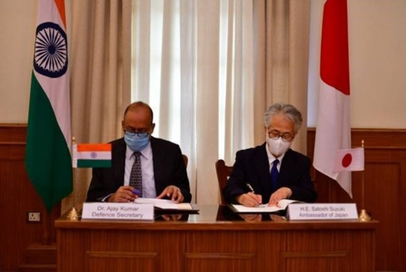 India and Japan Sign Reciprocal Defense Support Agreement