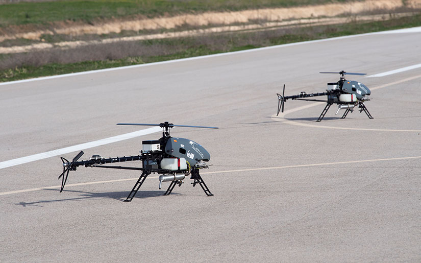 MultFlyer - A Fleet of Small Helicopter UAVs for Non-Military Tasks