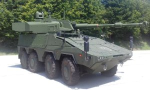 John Cockerill Unveils Boxer 8x8 Armored Vehicle with Cockerill 3105 Turret